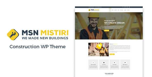 Msn Mistiri WordPress Theme free download