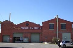 Bendigo Woollen Mills. Australias largest manufacturer of knitting wool. Established 30 years ago.