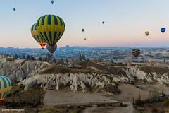 Turquie Cappadoce Vol en montgolfière Octobre 2013