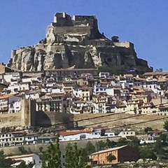 #castelldemorella the view from the bottom #morella #walledcities