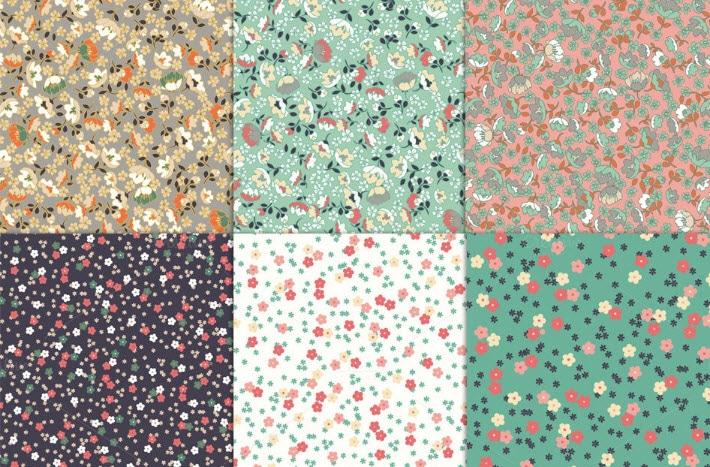 Pattern Hoa - Pattern Hoa Nền Giấy