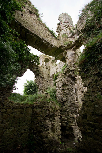 Clomore Castle detail
