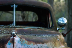 Just an old rusty car....