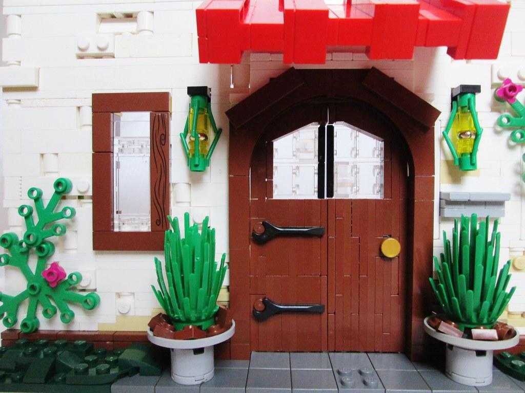 The Doorway to… (custom built Lego model)