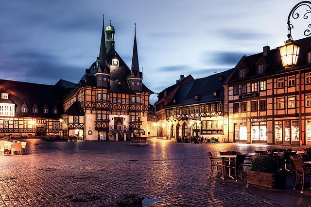 Marktplatz und Rathaus - Wernigerode