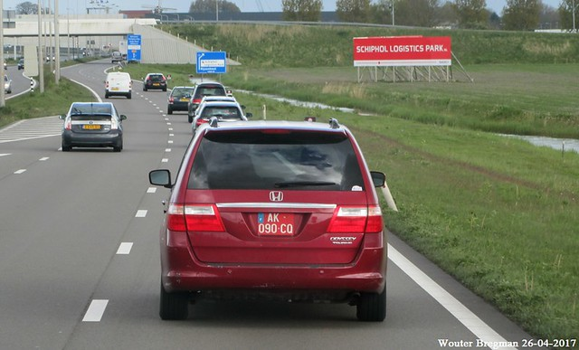Honda Odyssey Touring (US-spec)