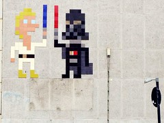 Space Invader- Darth meets Luke