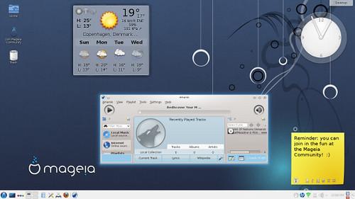 Mageia 3 desktop