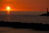 Sunset at Honjo over the Sea of Japan (本荘の夕方) (2012:20)