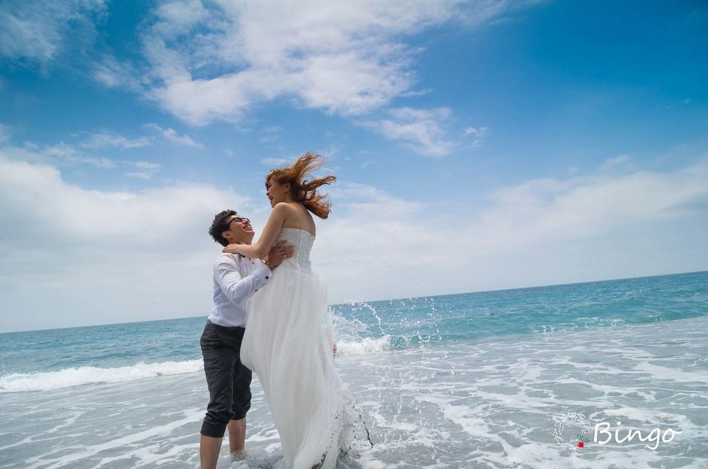 婚紗練習拍~