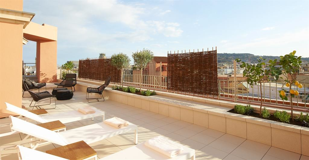 Le Meridien Barcelona—Spa - Terrace