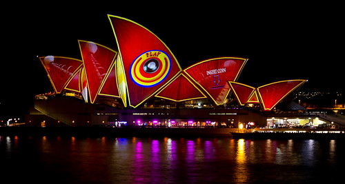 Sydney Opera House Vivid 2013 by Glen Adamson
