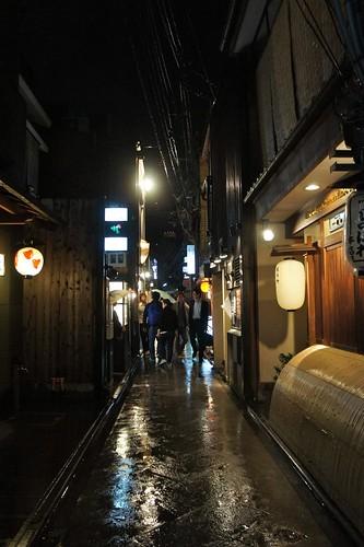 Pontocho 先斗町 by night