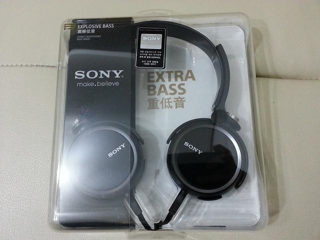 Sony MDR-XB400 頭戴式耳機開箱