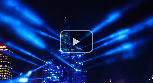 2012 Brisbane Festival 'City of Light' full performance.