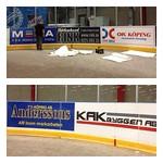 Hockeysäsongen är igång och RINK är Köping Hockeys nya reklammakare!