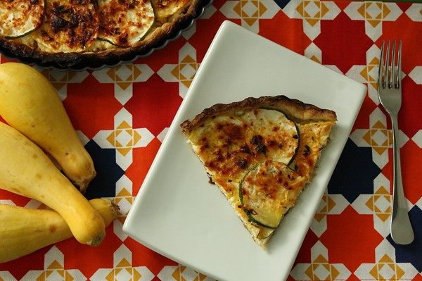 9325473879 359702c13a z Soul Searching Saturday with a Savory Summer Squash Tart