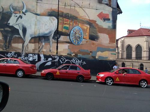 Impressive mural...