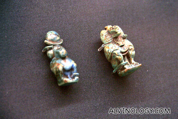 Miniature Egyptian figurines