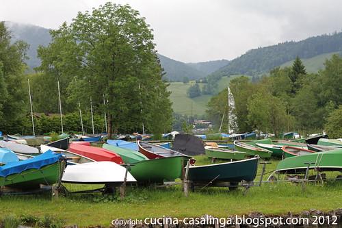 Fischerboote Schliersee