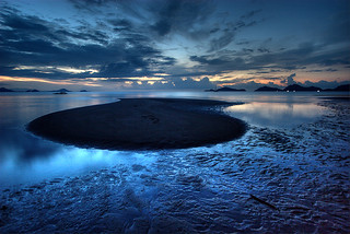 Black and Blue Beach