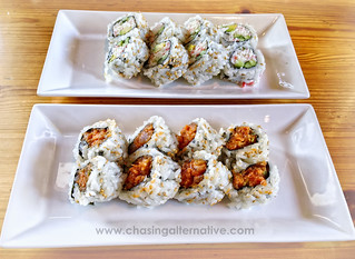 Spicy Tuna and California Roll
