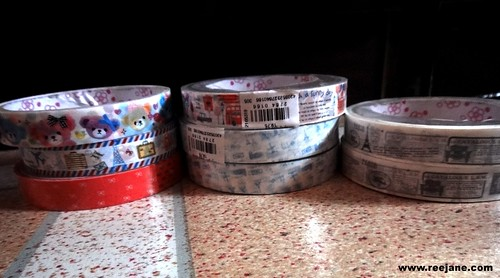 decorative tapes which cost Php 19.75