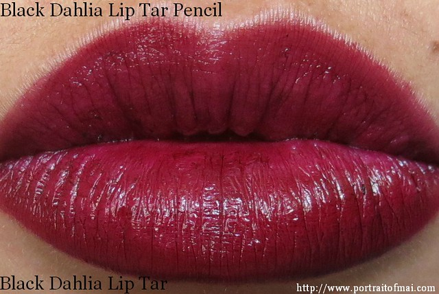 Black Dahlia Lip Tar Pencil