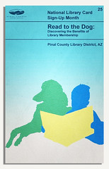 PCLD Library Card Benefits Series – Read to the Dog – #25