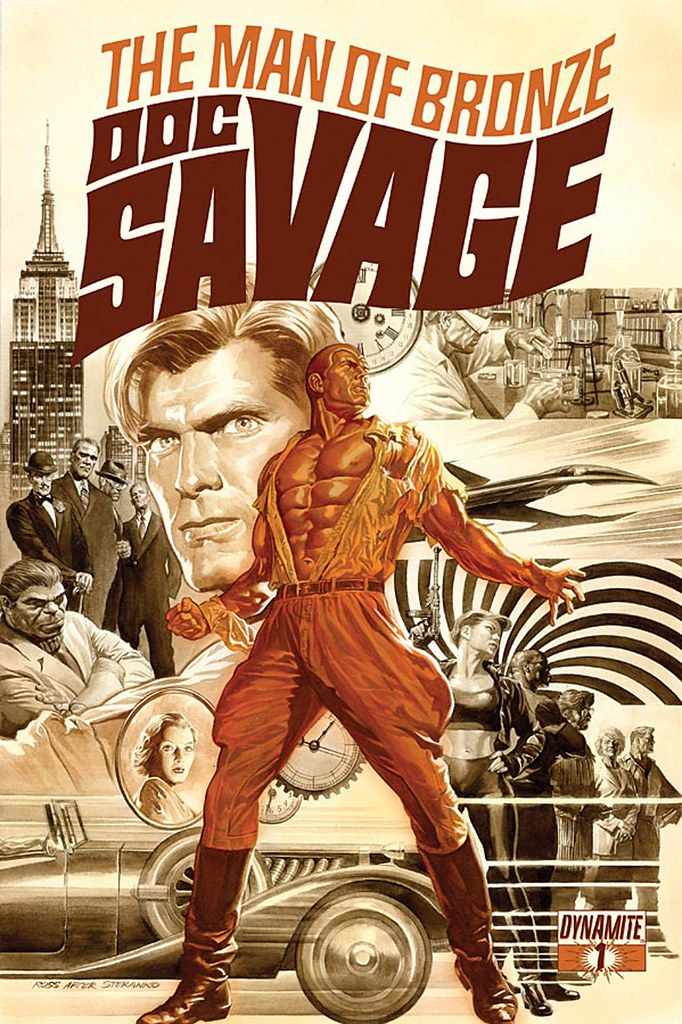 Doc Savage 1 2013 Dynamite cover by Alex Ross