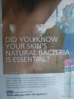 Your skin's bacteria is essential