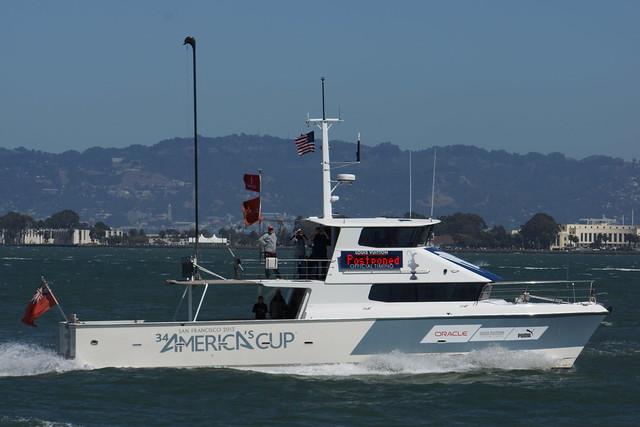 America's Cup Boat