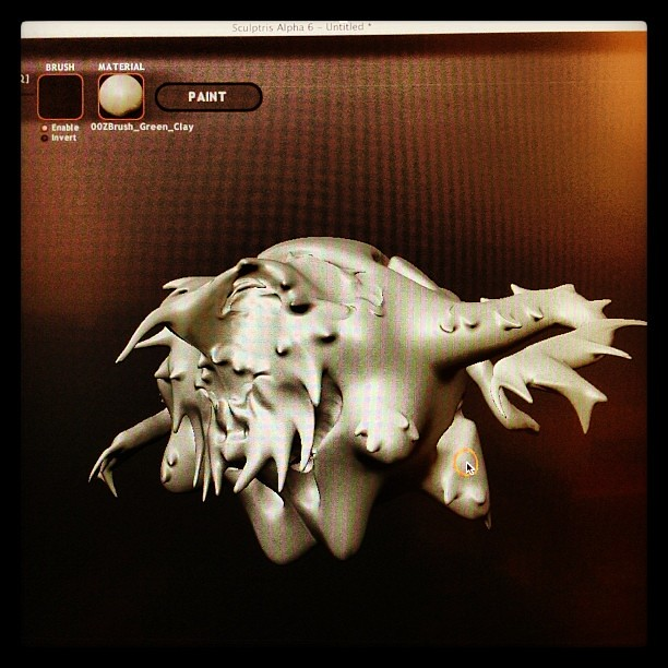 Having fun with sculptris