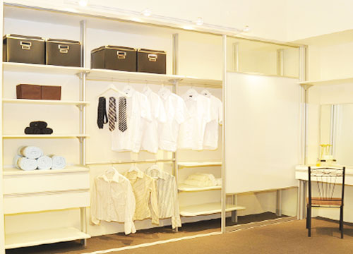 innocloset walk in wardrobe
