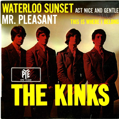 12 - Kinks, The - Waterloo Sunset - D - EP - 1967