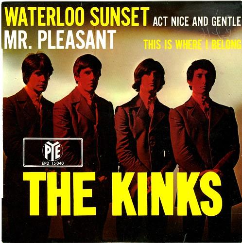12 - Kinks, The - Waterloo Sunset - D - EP - 1967