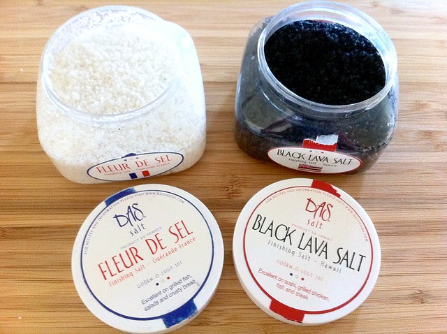 Black and White Finishing Salts