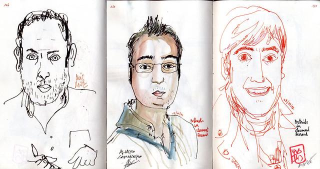 Portraits Without Mercy (Luis Ruiz, álvaro Carnicero and Josu Maroto)