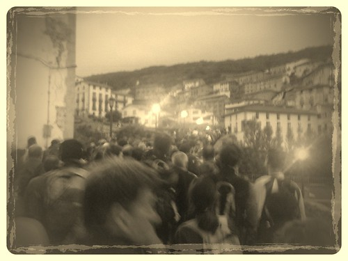 Marcha de Hoyos de Iregua salida en Villoslada de Cameros