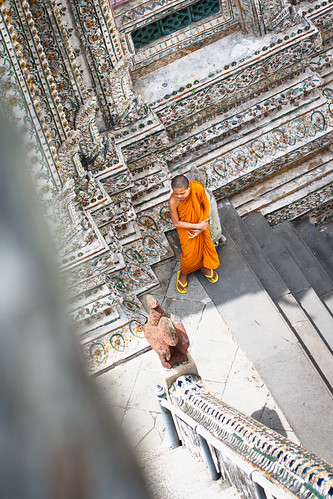 Monk at Wat Arun