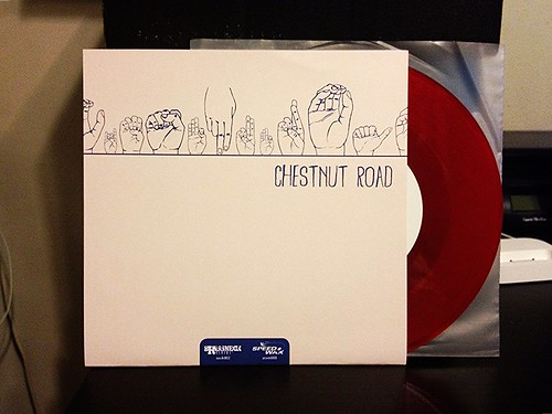 "Chestnut Road / New Alaska - Split 7"" - Red Vinyl (/50) by Tim PopKid"