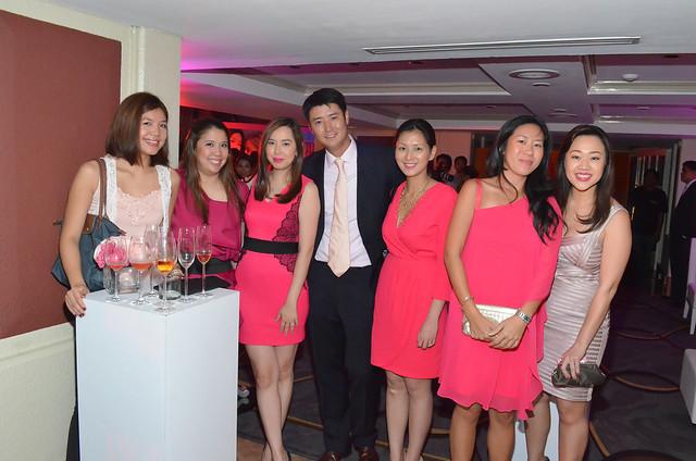 Macy Yap, Leslie Yap, Gay Chen, Derek Wong, Cindy Tiu Wong, Myra Sy, Farah Sy