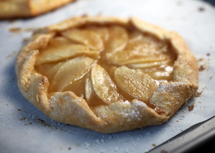 Butterscotch Apple Galette