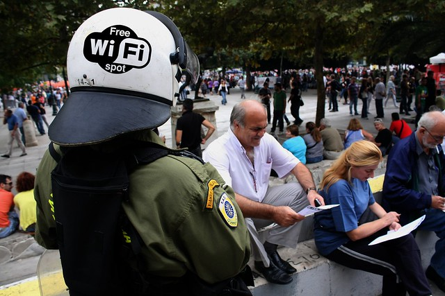 Greek PM's latest pie in the sky scheme - free wi-fi for everyone.