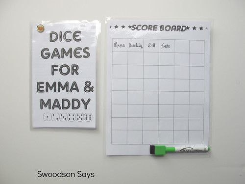 DIY Dice Game Set