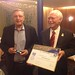 Pekka Havbrandt - FAI Air Sport Medal - - with FAI President (right)