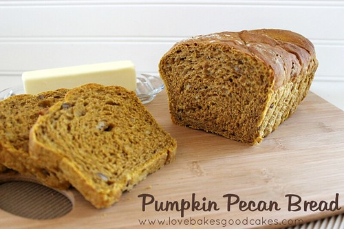 Pumpkin Pecan Bread 4