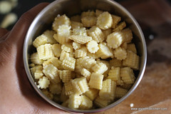baby corn cooked