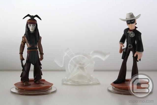 Disney Infinity The Lone Ranger Play Set Unboxing
