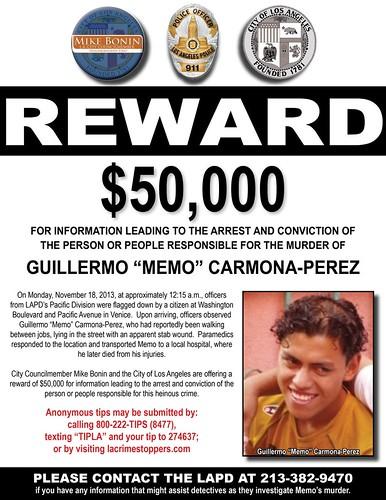 """Guillermo """"Memo"""" Carmona-Perez"""